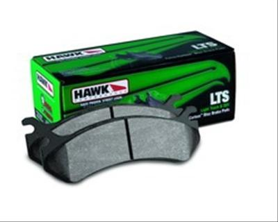 Hawk LTS Rear Brake Pads 02-18 Dodge Ram V6, V8
