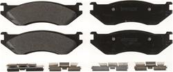 Bendix Semi-metallic Front Brake Pads 05-18 Dodge Ram V6, V8
