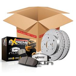 Power Stop Z36 Truck and Tow Rear Brake Kit 04-06 Dodge Ram 1500
