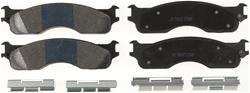 Centric Semi-metallic Front Brake Pads 05-18 Dodge Ram V6, V8