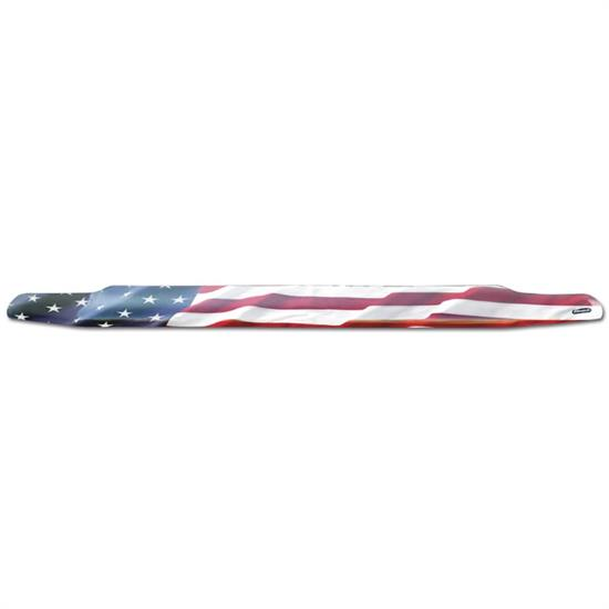 Stampede USA Flag VP Hood Deflector 02-08 Dodge Ram