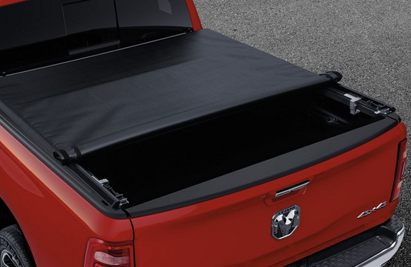 "Mopar Soft Roll-up Tonneau Cover 19-up Ram 6'4"" Conventional Bed"