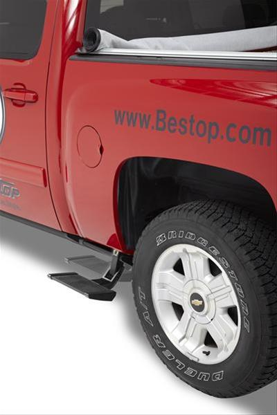 Bestop TrekStep Side Bed Steps 02-18 Dodge Ram Drivers Side