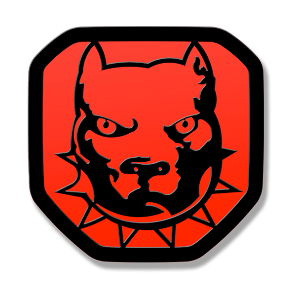 Bulldog Tailgate Emblem 2019-up Ram 1500