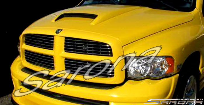 Sarona Hood Scoop 04-05 Rumble Bee, Hemi Sport, Dodge Ram
