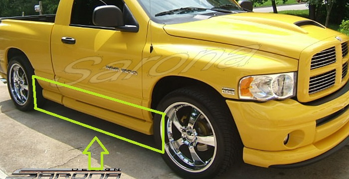 Sarona Side Skirts 04-05 Rumble Bee, Daytona, Hemi Sport