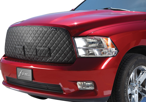 Fia Cold Weather Front & Bug Screen Grille Cover 09-18 Dodge Ram