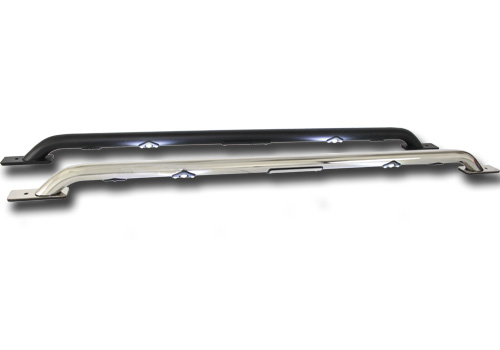 GoRhino Polished Stainless LED Bed Rails 02-08 Dodge Ram SB
