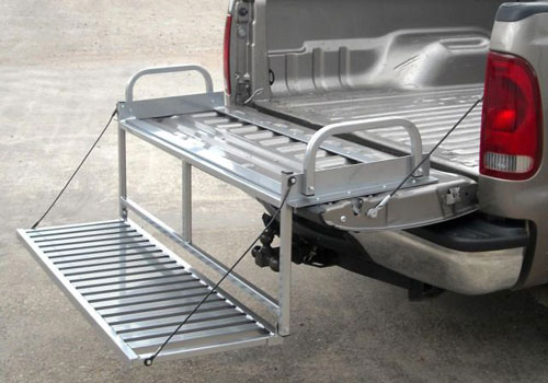 Great Day Truck N' Buddy Magnum Tailgate Mount Bed Step