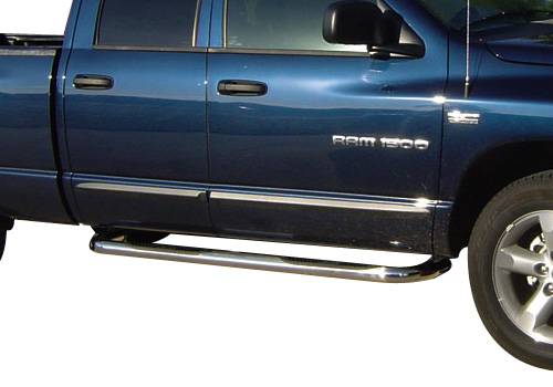 Mopar Chrome Body Side Molding 02-08 Dodge Ram Quad Cab