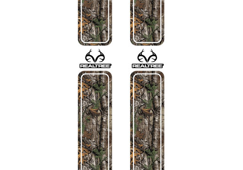 Xtra Camo Pattern with RealTree Logo Bed Stripes