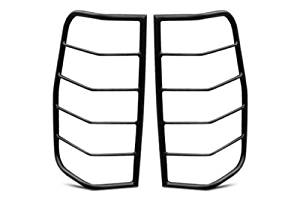Steelcraft Black Tail Light Guards 94-02 Dodge Ram