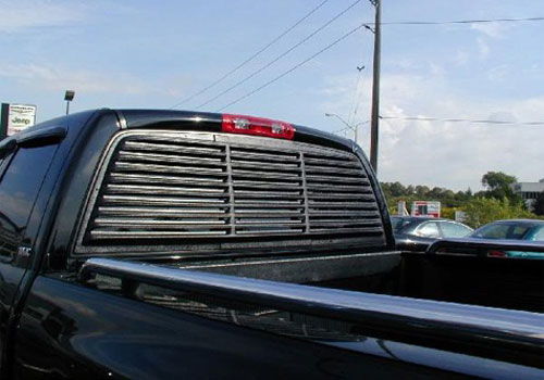 Willpak Rear Window Louvers 02-08 Dodge Ram without Slider