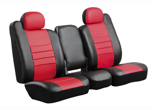 Fia LeatherLite Style Custom Front Seat Covers 09-18 Dodge Ram