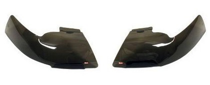 Wade Smoked Headlight Covers 02-05 Dodge Ram