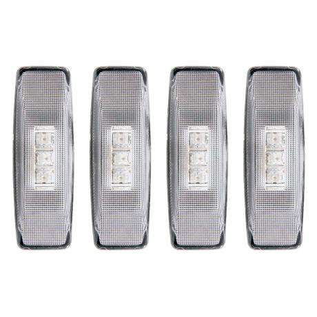 Anzo USA Clear LED Fender Lights 94-02 Dodge Ram Dually