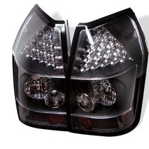 Spyder Black LED Tail Light Set 05-08 Dodge Magnum