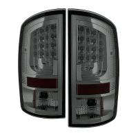 Spyder Gen 2 Smoked LED Tail Lights 07-08 Dodge Ram