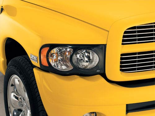 Auto VentShade Projectorz Headlight Covers 02-05 Dodge Ram
