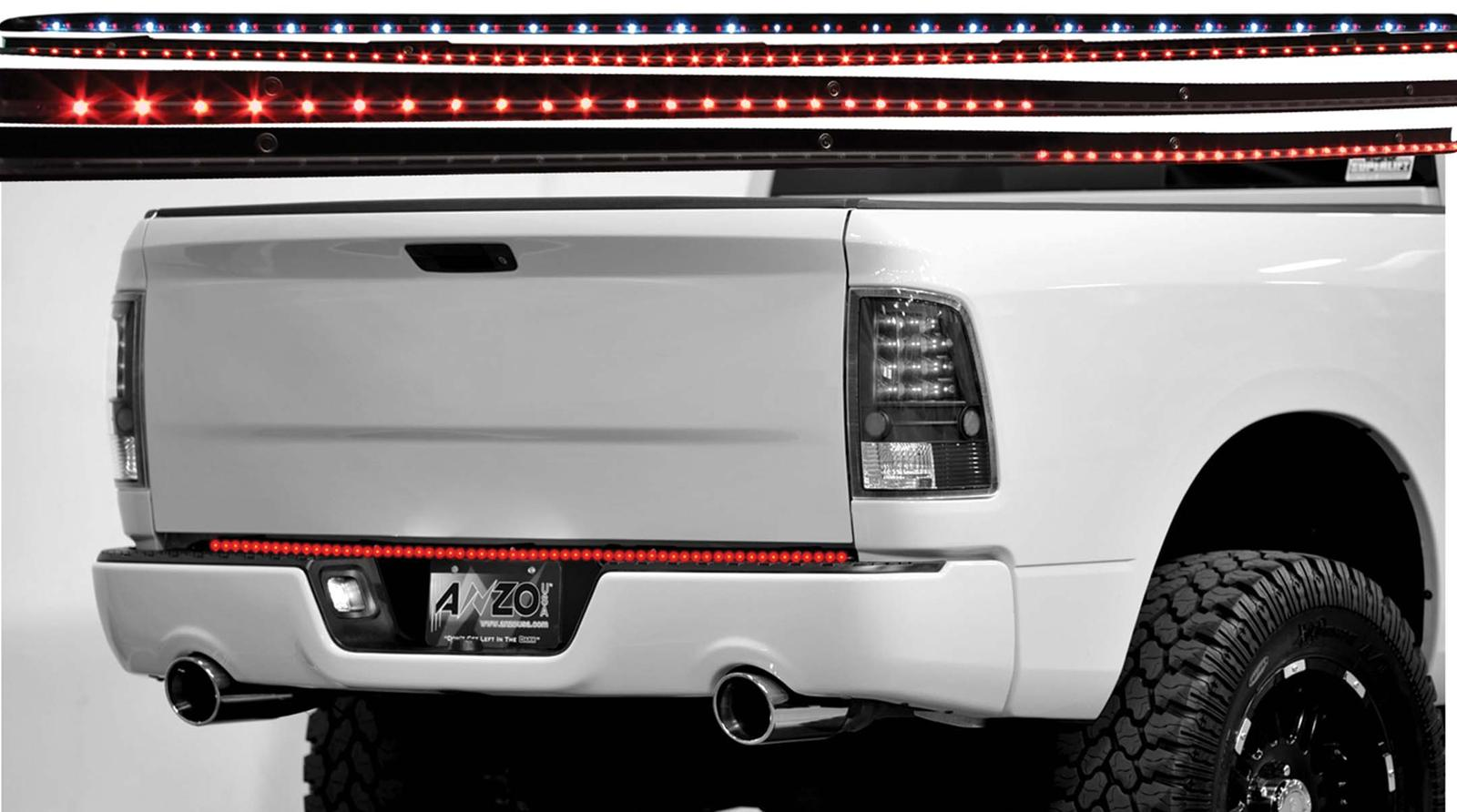 "Anzo 60"" LED Clear 6-Function Tailgate Light Bar"