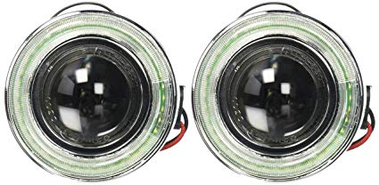 "Spec-D Universal 3"" Halo LED Projector Fog Lights"