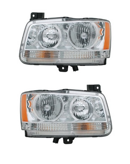 TYC Replacement Headlights 2008 Dodge Magnum