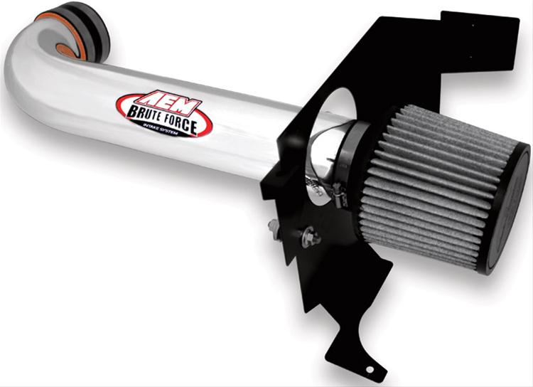 AEM Polished Synthetic Air Filter Intake 05-10 LX Cars 5.7 Hemi
