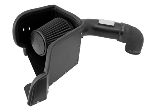 K&N 71-Series Blackhawk Air Intake System 09-18 Dodge Ram 5.7L
