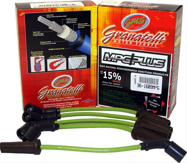 Granatelli Motor Sports MPG Plus Spark Plug Wires 03-05 Hemi 5.7