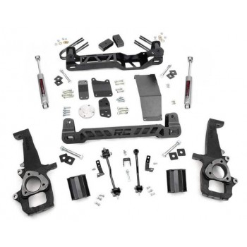 "Rough Country 4"" Lift Kit w-N3 Shocks 02-05 Dodge Ram 1500 4wd"