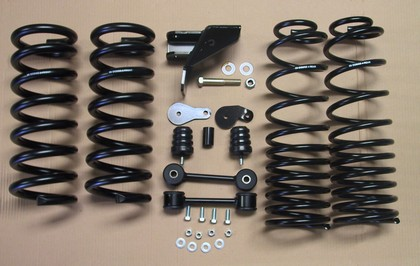 MCGaughy's 2/4 Drop Kit 09-18 Dodge Ram 1500 2WD QC-CC