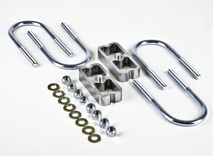 "Belltech Universal 1"" Lowering Block Kit without Taper"
