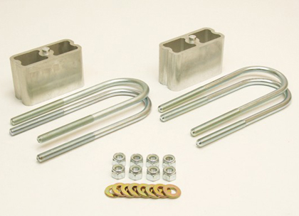 "Belltech Universal 3"" Lowering Block Kit without Taper"