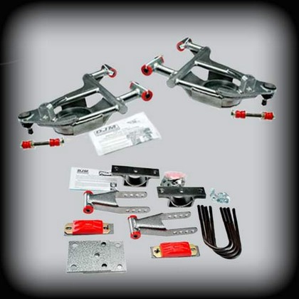 DJM Control Arms 3/5Drop Kit 02-05 Dodge Ram 1500 2wd