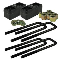 "Ground Force Universal 3"" Lowering Block Kit fits 2 1/2"" spring"