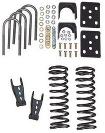MCGaughy's 2/4.5 Drop Kit 06-08 Dodge Ram 1500 2WD QC