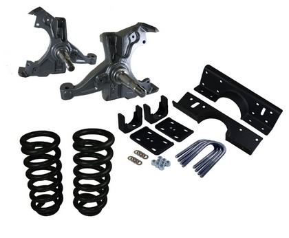 Western Chassis Deluxe 3/5 Drop Kit 94-00 Dodge Ram 1500 V6