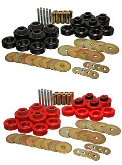 Energy Suspension Body Mount Bushings 02-05 Dodge Ram RC