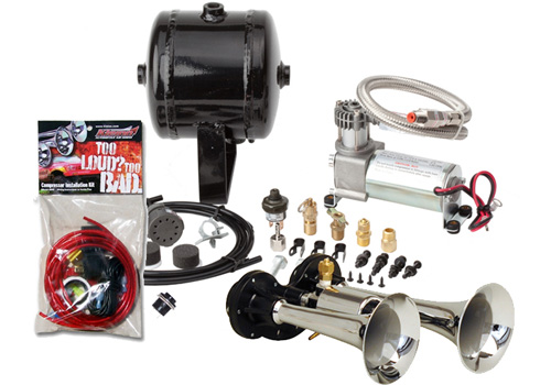 Kleinn 151.4db Compact Dual Air Horn Kit