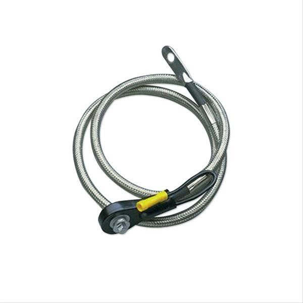 Taylor Diamondback Shielded 11 Inch Side Post Battery Cable