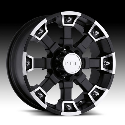 "Brutal 392 Matte Black-Machine Wheel 20""x9"" 94-18 Dodge Ram 1500"