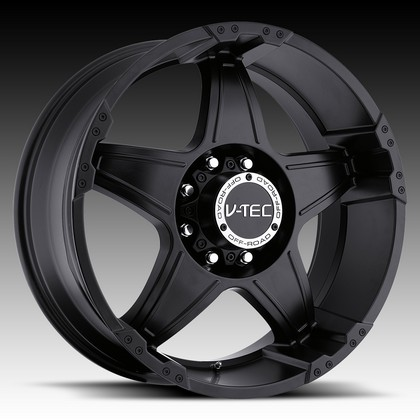 "Wizard 395 Matte Black Wheel 18""x9"" 94-18 Dodge Ram 1500"