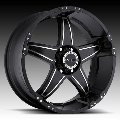 "Wizard 395 Matte Black-Machine Wheel 20""x9"" 94-18 Dodge Ram 1500"