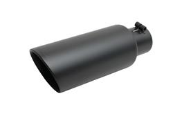 Gibson Performance 2.5 in. Black Exhaust Tip 12.0 in. Long