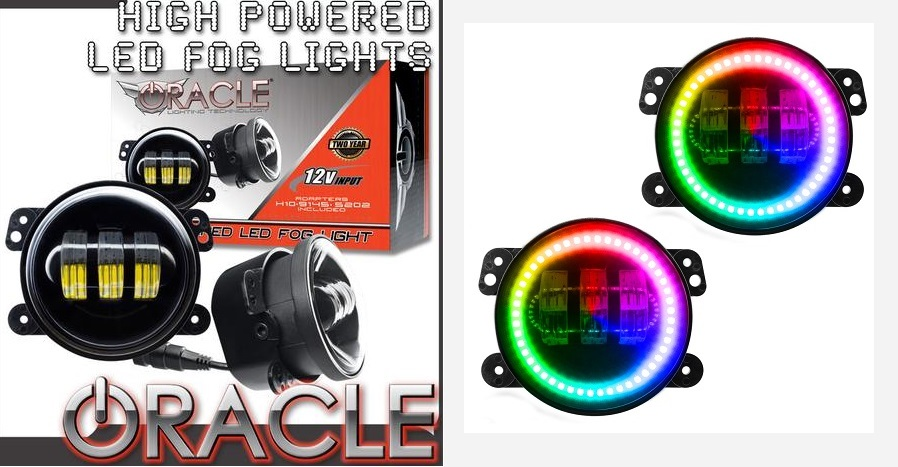 ORACLE Color Shift LED Fog Lights Challenger,Magnum,Charger,300