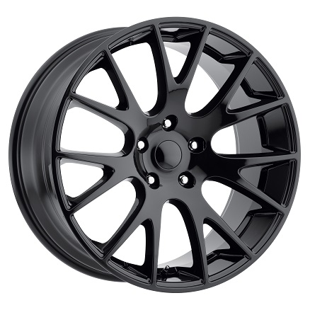 "Factory Repro Hellcat Style 22""x10"" Wheel 94-18 Dodge Ram 1500"
