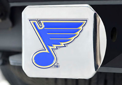 FanMats NHL Team Color Filled Hitch Cover