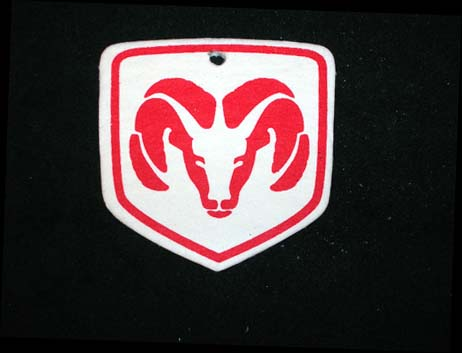 White Ram Head Air Freshener