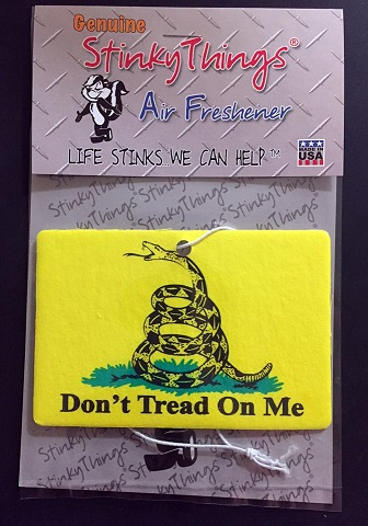 Don't Tread On Me Gadsden Flag Air Freshener