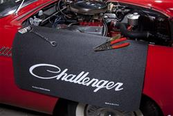 Challenger Logo Fender Protective Cover